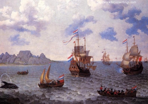 The Man=o-War Amsterdam and other Dutch Ships in Table Bay.jpg