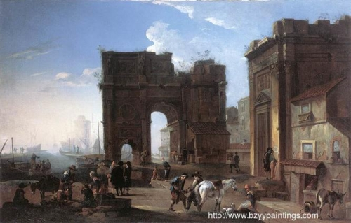 Harbour View with Triumphal Arch.jpg