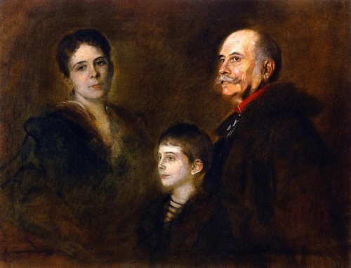 General von Hartmann with Wife and Son.jpg