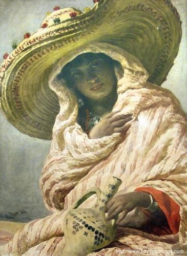 A Young Moroccan Woman Una giovane marocchina).jpg