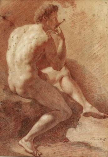 Study of a Male Nude Playing the Flute.jpg