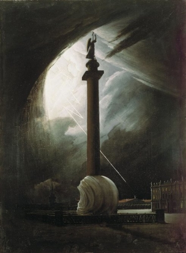 The Alexander Column during a Thunderstorm.jpg