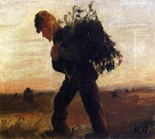 Per Bollerhus Walking with His Bundle of Sticks.jpg