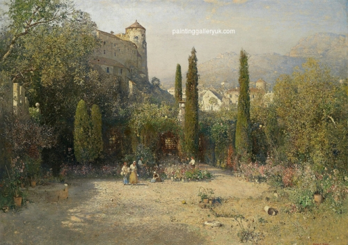 Garden Scene in the Etschtal.jpg
