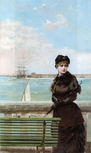 An Elegant Woman at St Malo.jpg