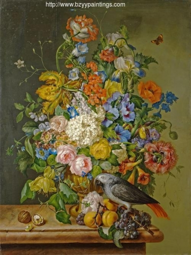 Still Life with Flowers and Parrot.jpg