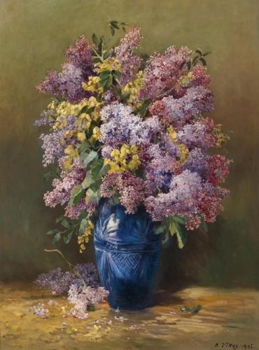 Lilacs in Blue Vase.jpg
