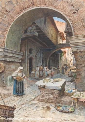 A Fish Market in Rome.jpg