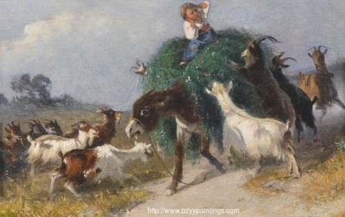 Goats Stealing Hay.jpg