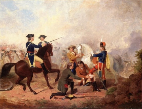 Washington and Lafayette at the Battle of Brandywine.jpg