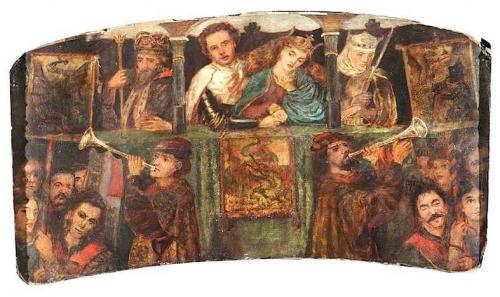 The Theodore Watts-Dunton Cabinet: The Wedding of Saint George.jpg