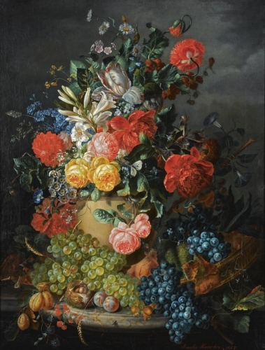 A Flower Still Life with Grapes.jpg