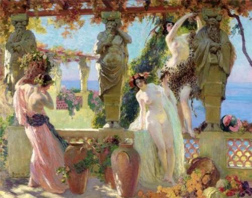 Harvesting Grapes on the Pergola.jpg