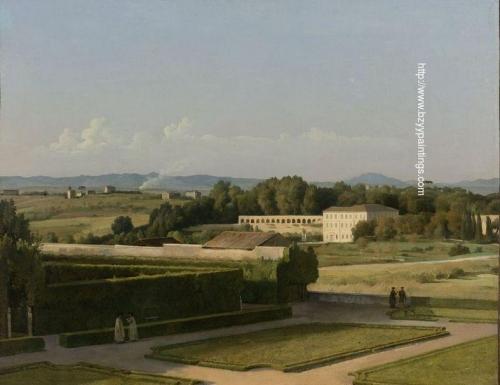 View of the Gardens of Villa Medici.jpg