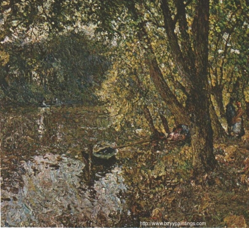 Under the trees at the edge of the Oise.jpg