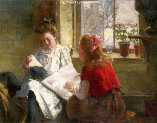 Two Girls Reading.jpg