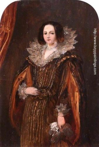 Woman in a Burgundy Dress.jpg