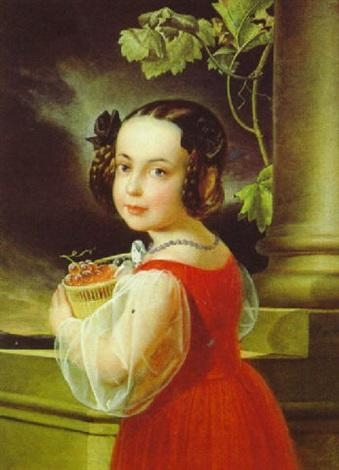 Portrait of a Girl with a Basket of Grapes.jpg