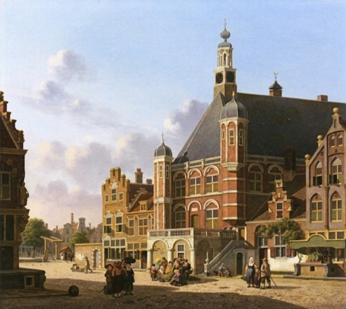 A Busy Town Square Holland.jpg