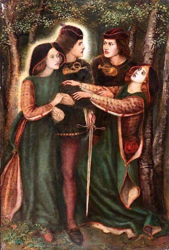 The Theodore Watts-Dunton Cabinet: How They Met Themselves after Dante Gabriel Rossetti).jpg