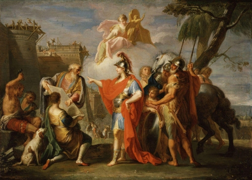 Alexander the Great Founding Alexandria.jpg