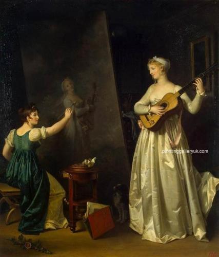 Artist Painting a Portrait of a Musician.jpg