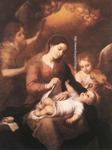 Mary and Child with Angels Playing Music.jpg