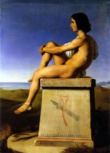 Polytès Fils de Priam Observant les Mouvements des Grecs vers Troie.jpg