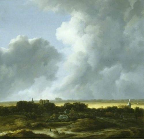 Le coup de soleil Alkmaar from the South West and Egmond).jpg