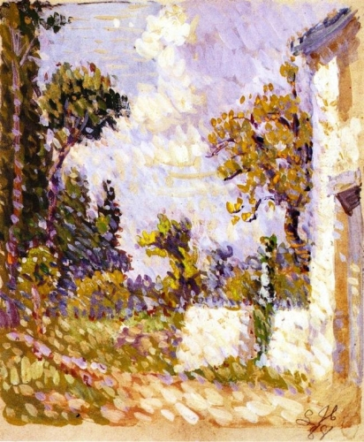 Landscape with Wall and Trees.jpg