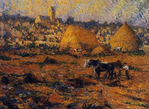 A Winter Afternoon in Auvers.jpg