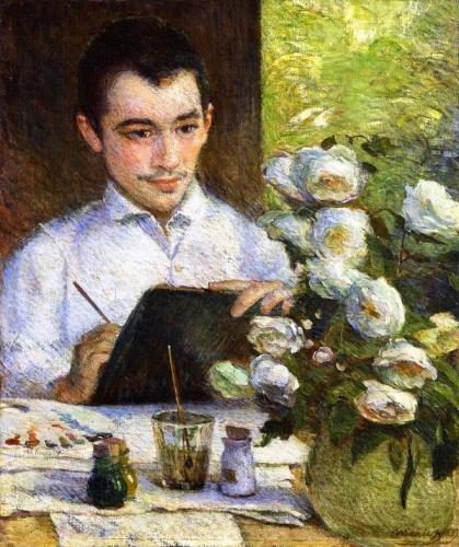Pierre Painting a Bouquet.jpg