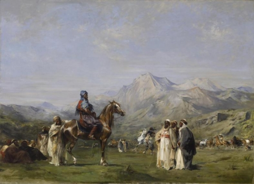 An Encampment in the Atlas Mountains.jpg