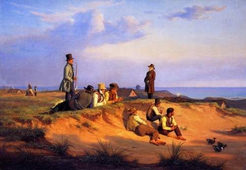 Men of Skagen on a Summer Evening in Good Weather.jpg