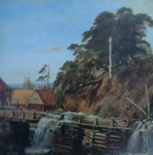 A Water Mill near Christiana.jpg