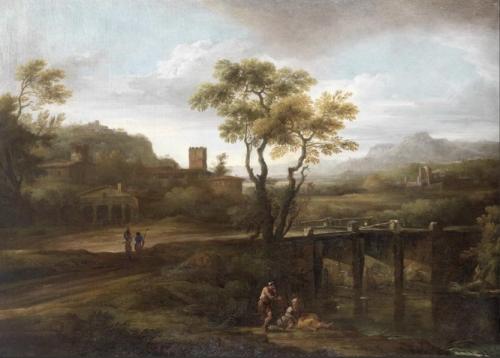 Figures by a Bridge in an Italianate Landscape.jpg
