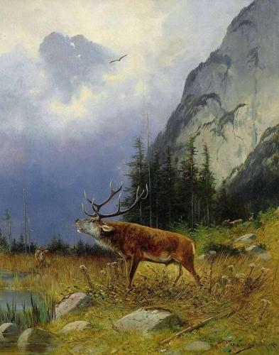 A Roaring Deer.jpg