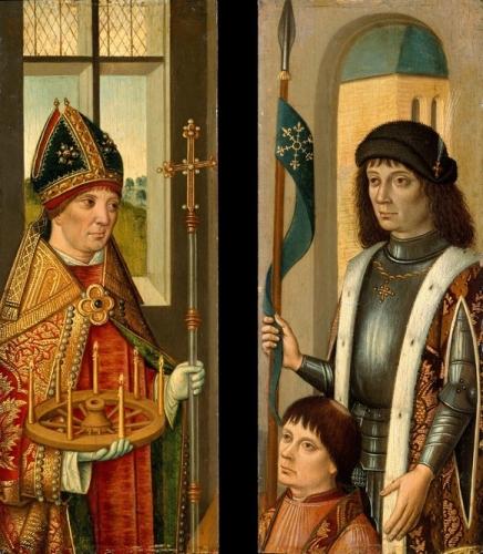 Saint Donatian: Saint Victor Presenting a Donor.jpg