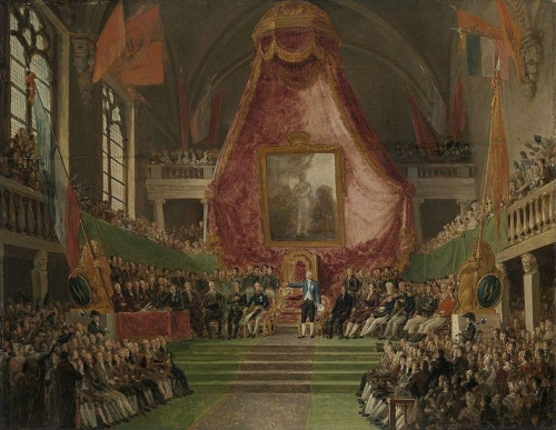 The solemn installation of the University of Ghent by the Prince of Orange.jpg