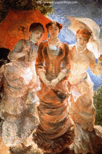 Three Ladies with Umbrellas also known as The Three Graces of 1880).jpg