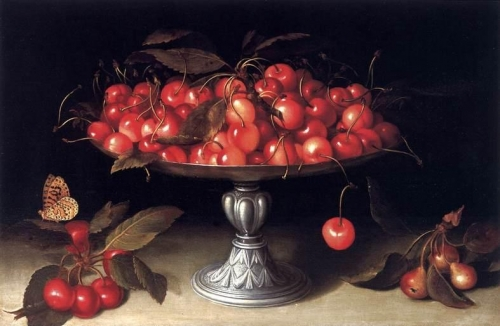 Cherries in a Silver Compote.jpg