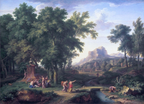 Arcadian Landscape with a Bust of Flora.jpg